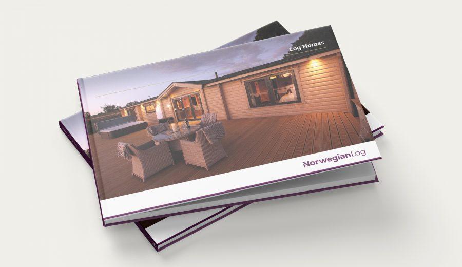 Norlog brochure mockup 2020 cover