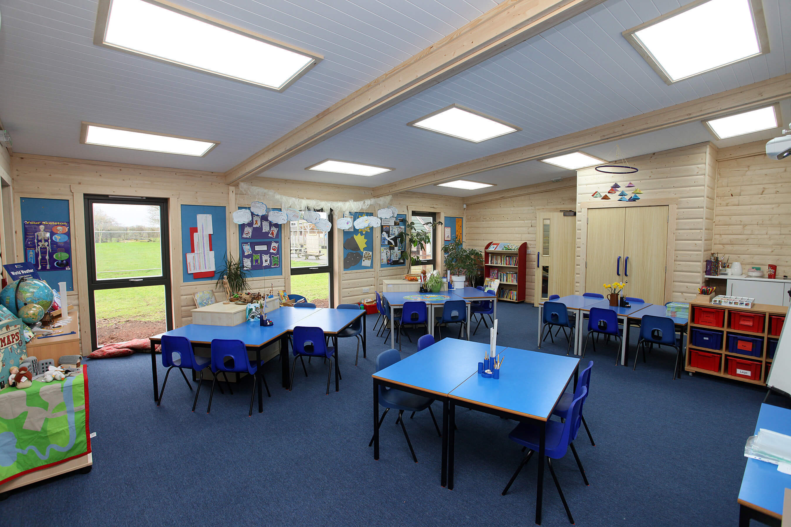 Modular Classroom Uk : Modular classrooms school buildings norwegian log