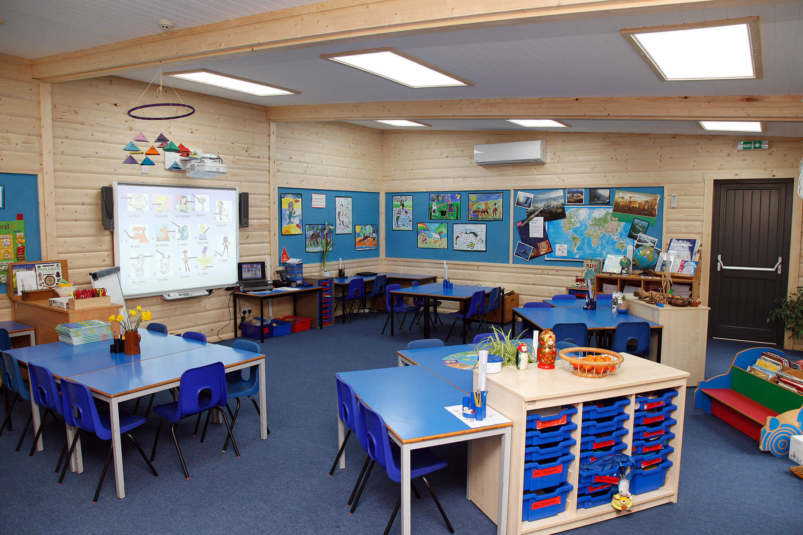 Modular Classroom Uk : Modular classrooms school buildings norwegian log