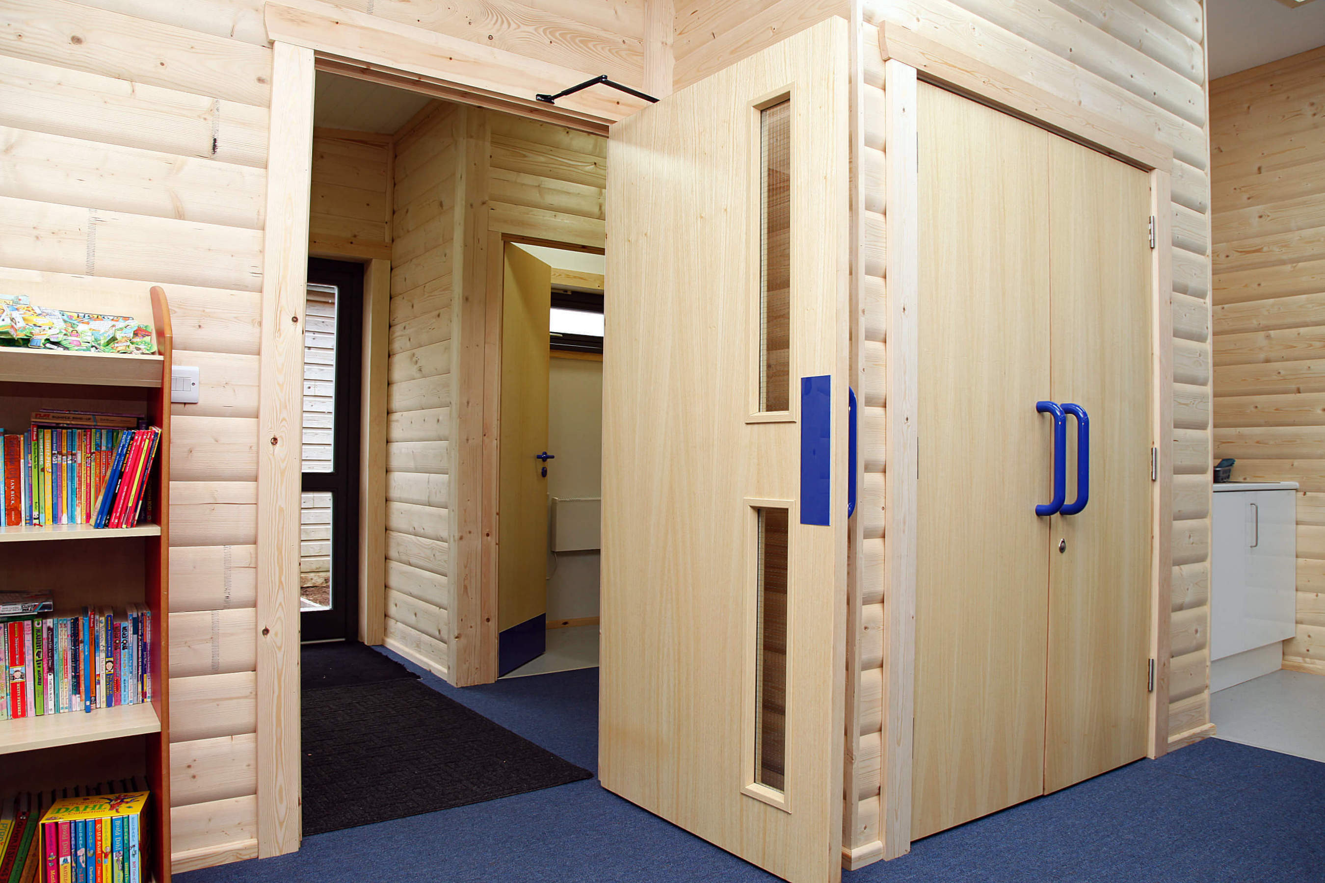 Modular Classroom Uk ~ Modular classrooms school buildings norwegian log