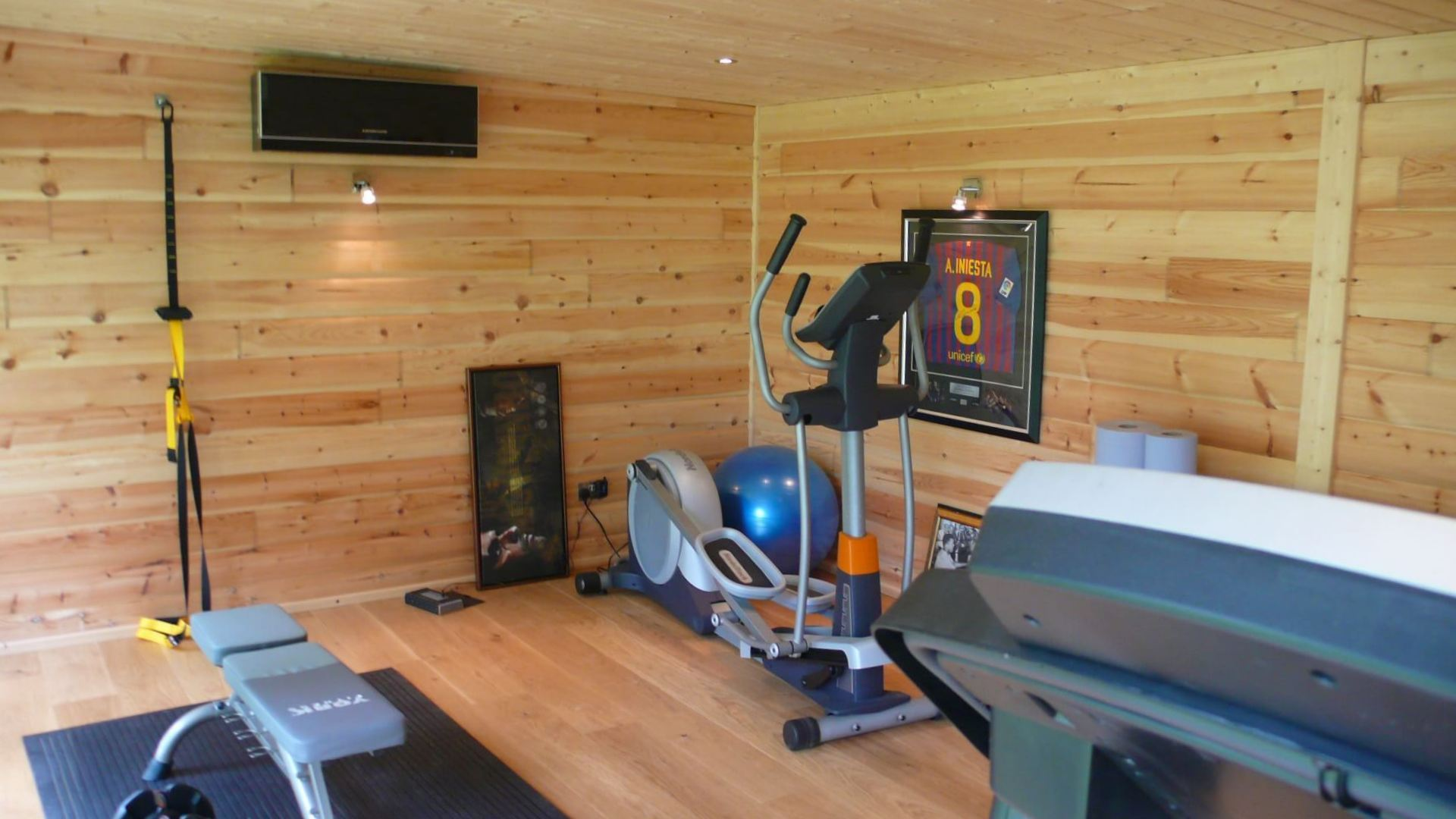 garden gyms home gym buildings norwegian log. Black Bedroom Furniture Sets. Home Design Ideas