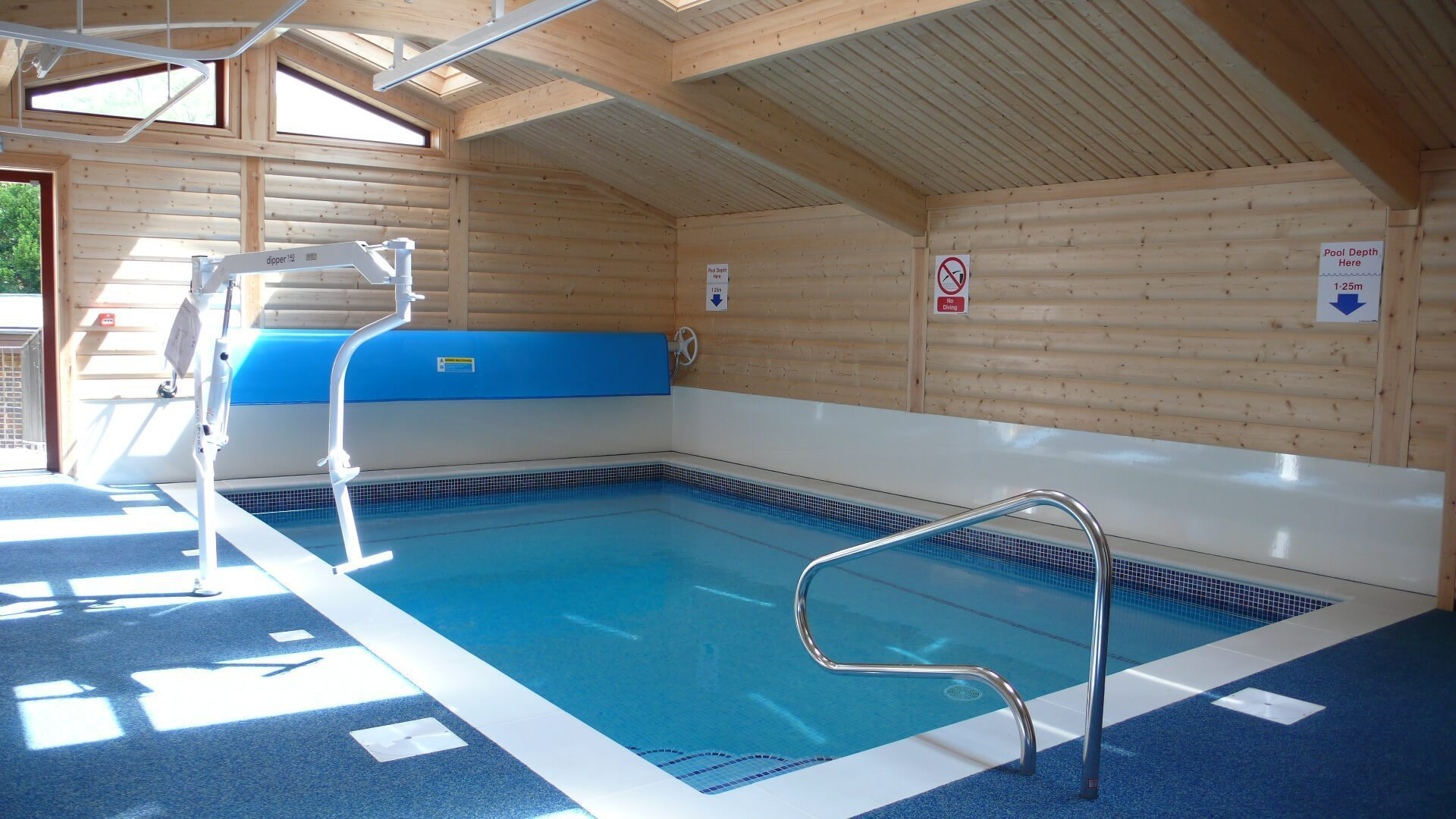 Hydrotherapy Pool Buildings And Enclosures Norwegian Log
