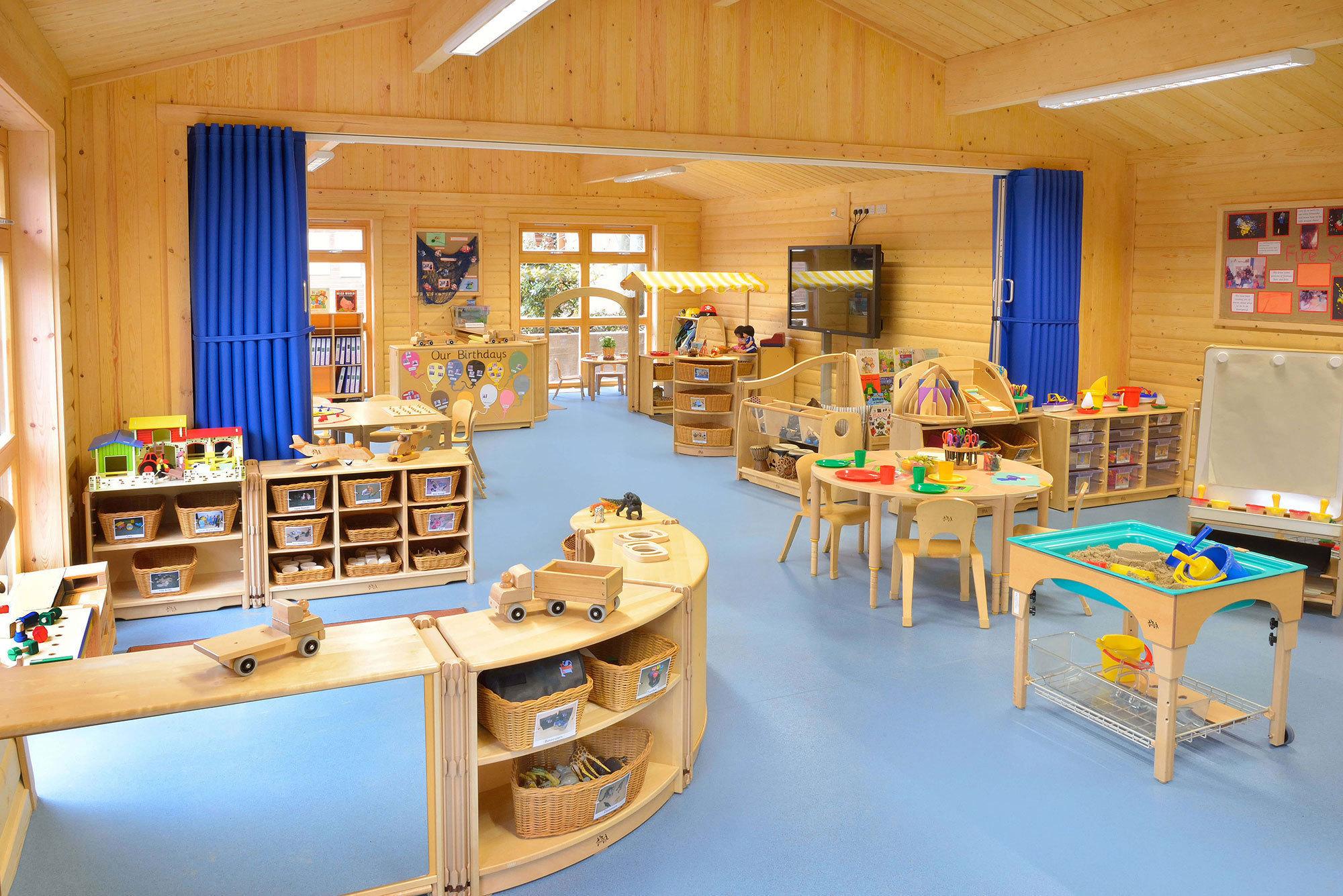 Nursery Buildings And Playrooms Norwegian Log