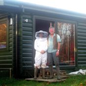 Roger  White Beekeeping  Christina  Gray