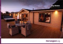NL log homes brochure thumb