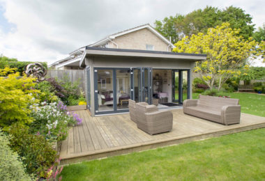 5m x 3m Frome garden room 1
