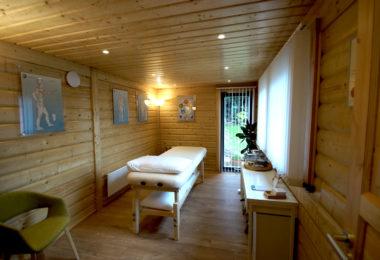 Acupuncturist cabin