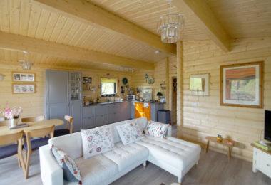 Norwegian Log Granny Annex Interior