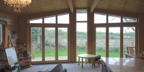 Contemporary Stavanger Log Home Essex 6