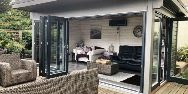 5m x 3m Frome garden room 5