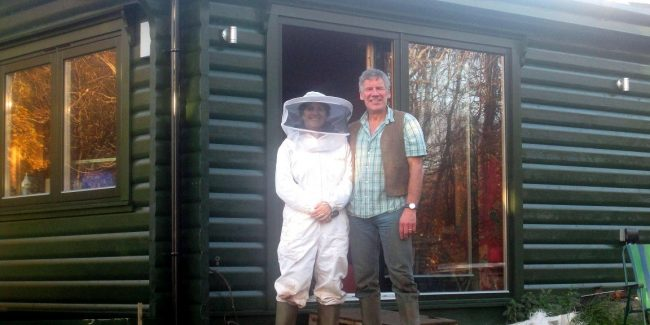 Roger  White Beekeeping  Christina  Gray