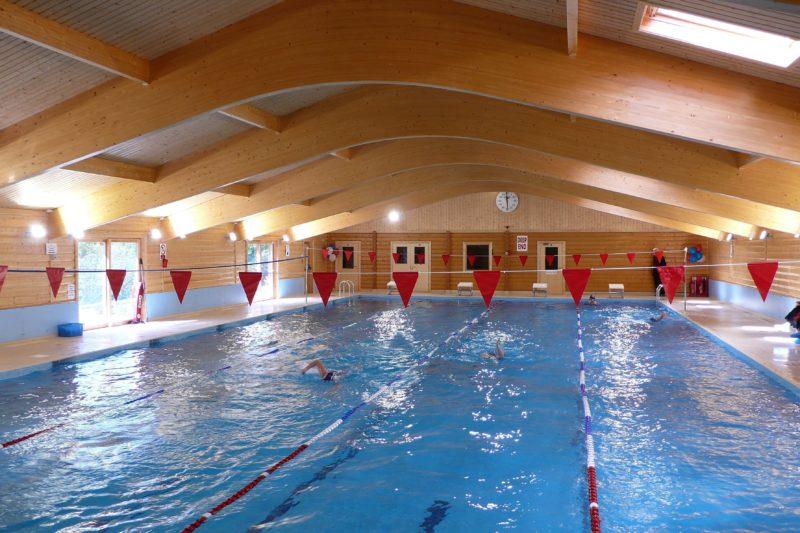 School Swimming Pool Buildings Norwegian Log