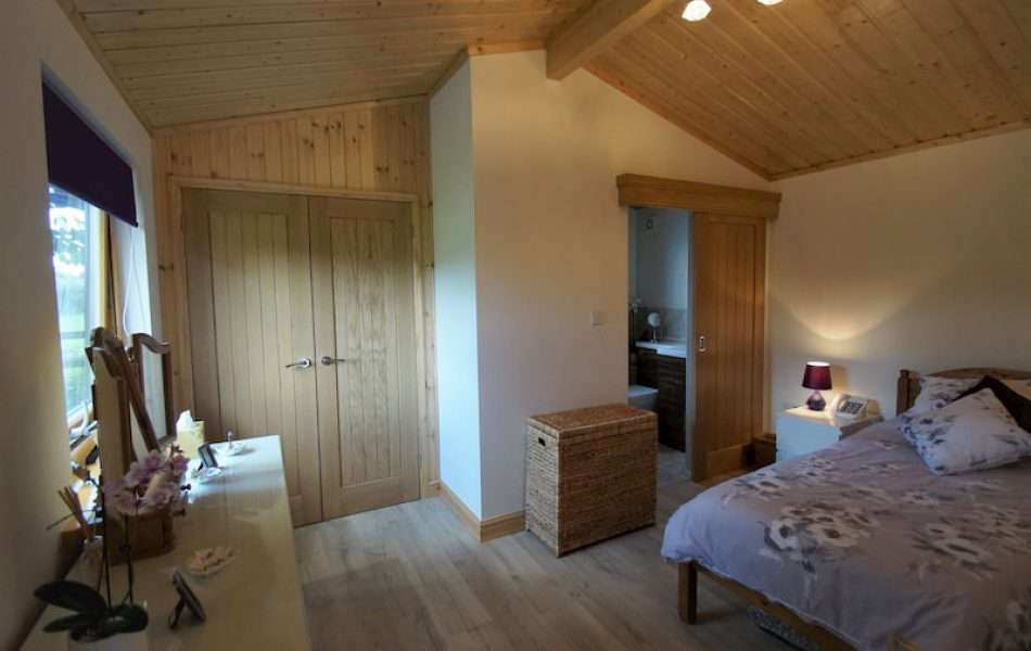 Contemporary Log Cabin Interior 4