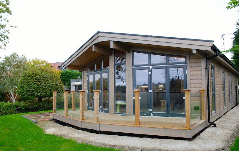 Contemporary Stavanger Log Home Essex 5