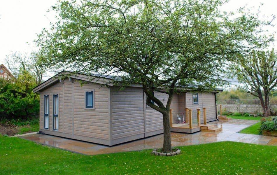Contemporary Stavanger Log Home Essex 9 jpg