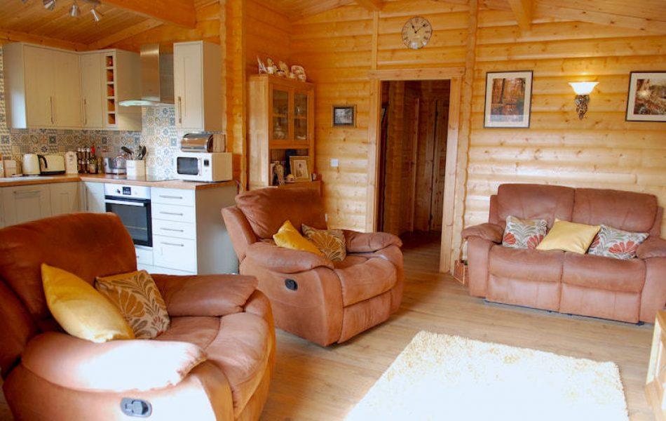 Traditional Log Cabin Interior 11