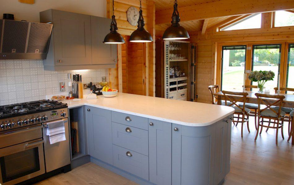 Traditional Log Cabin Interior 3