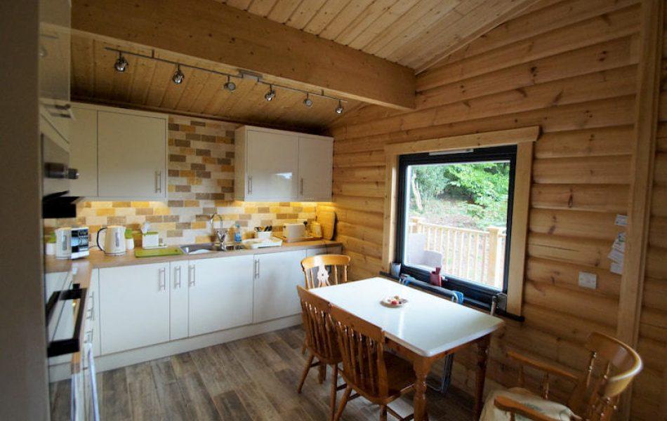 Traditional Log Cabin Interior 8